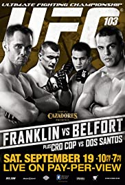 UFC 103: Franklin vs. Belfort Poster