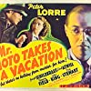 Peter Lorre and Virginia Field in Mr. Moto Takes a Vacation (1939)