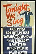 Image of Tonight We Sing