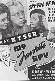 My Favorite Spy (1942) Poster - Movie Forum, Cast, Reviews