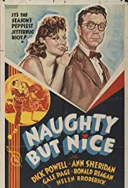 Naughty But Nice (1939) Poster - Movie Forum, Cast, Reviews