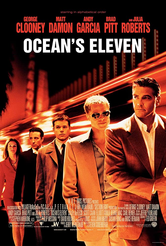 Ocean's Eleven 2001 Dual Audio Hindi 720p BRRip Watch Online Free Download At Movies365
