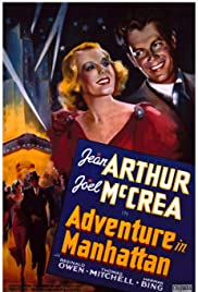 Adventure in Manhattan Poster