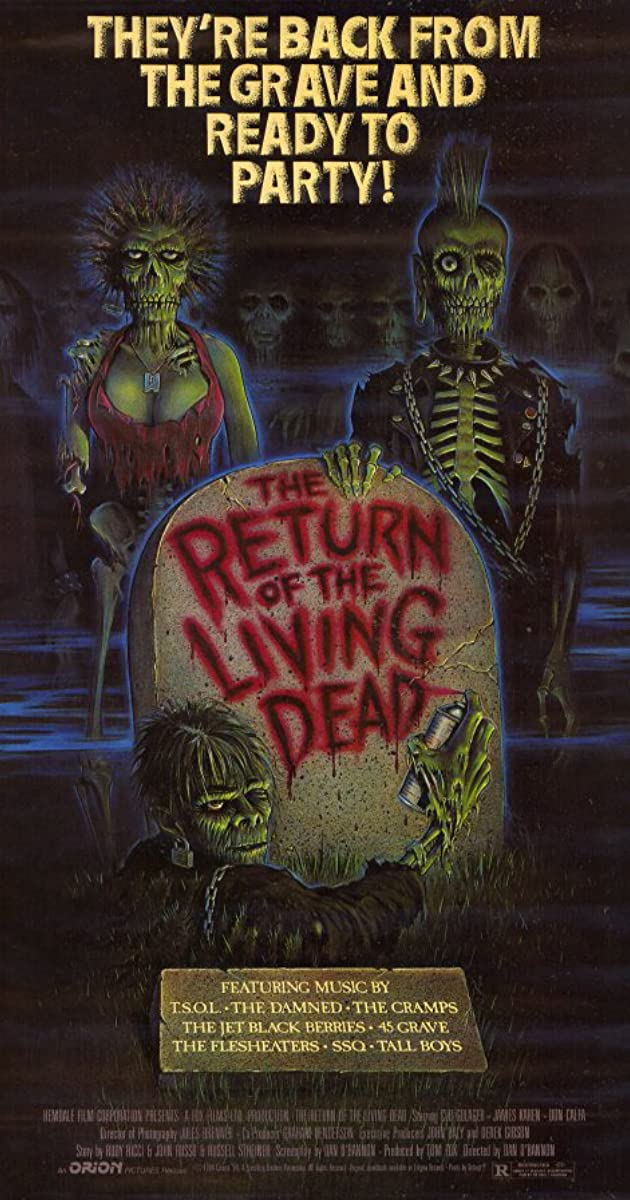 Numirėlių sugrįžimas / The Return of the Living Dead (1985) Online