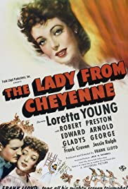 The Lady from Cheyenne Poster