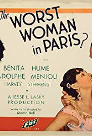 The Worst Woman in Paris? Poster