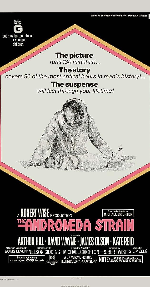 Resultado de imagen de the andromeda strain 1971