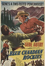 Blue Canadian Rockies Poster
