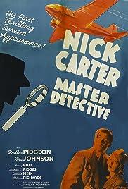 Nick Carter, Master Detective Poster