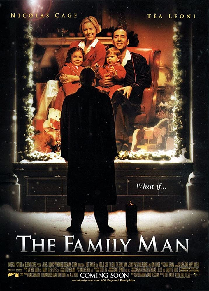 DVD cover from the movie The Family Man