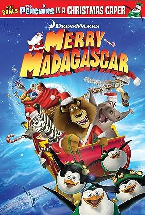 Merry Madagascar poster