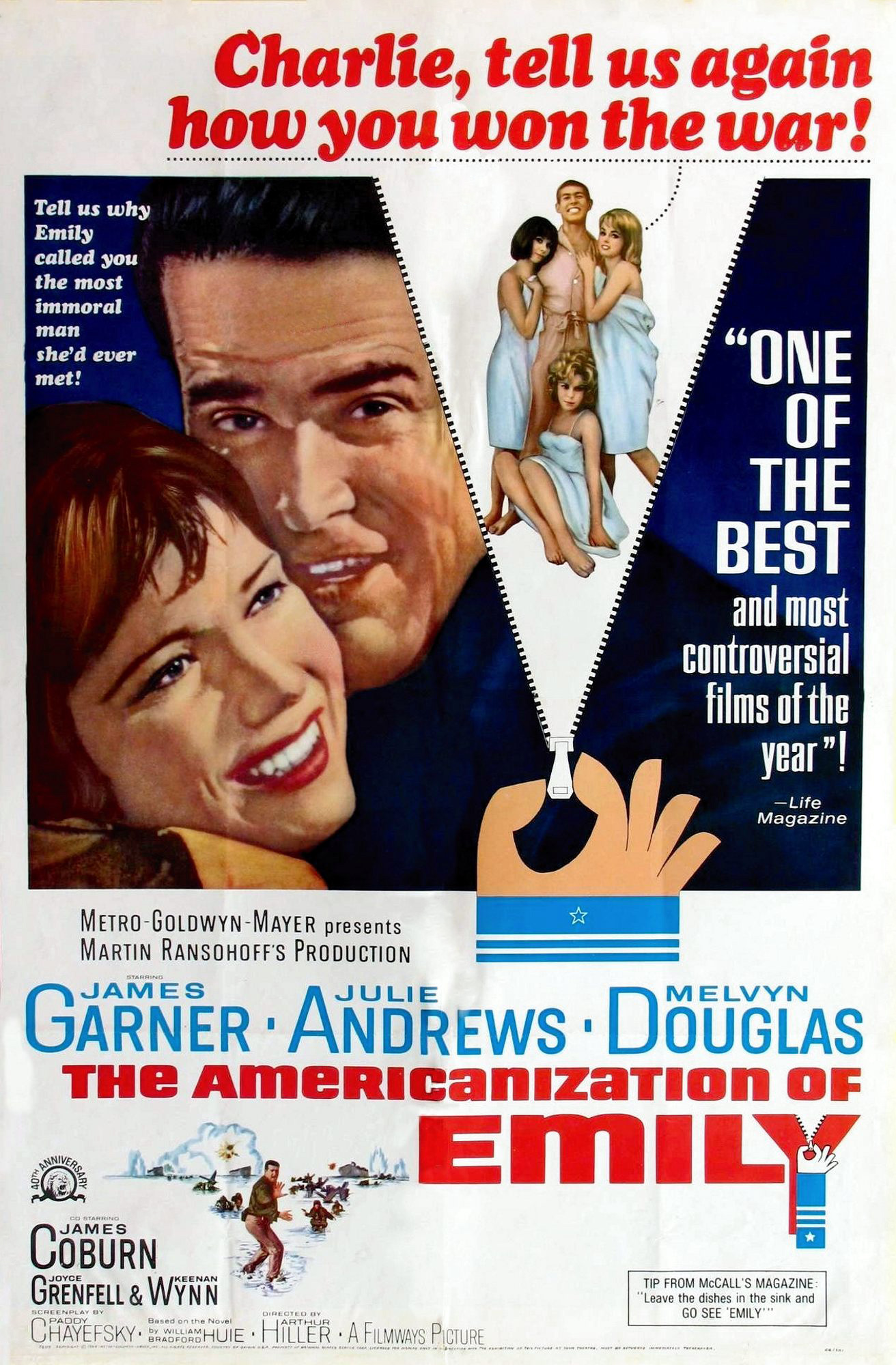 The Americanization of Emily Watch Full Movie Free Online