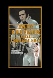 Andy Kaufman Plays Carnegie Hall (1980) Poster - Movie Forum, Cast, Reviews
