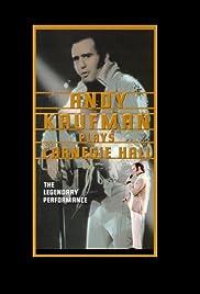 Andy Kaufman Plays Carnegie Hall(1980) Poster - Movie Forum, Cast, Reviews