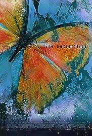 Fire Butterflies Poster