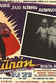 Neutrón, el enmascarado negro Poster