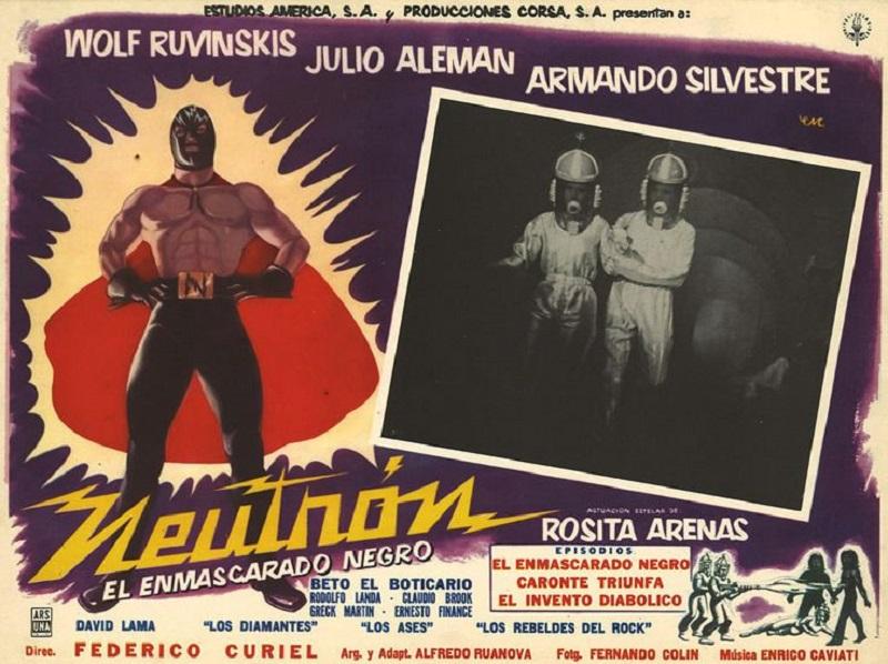 image Neutrón, el enmascarado negro Watch Full Movie Free Online