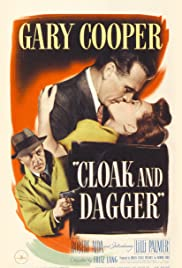 Cloak and Dagger (1946) Poster - Movie Forum, Cast, Reviews