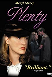 Plenty: Days of Plenty - A Conversation with Director Fred Schepisi Poster