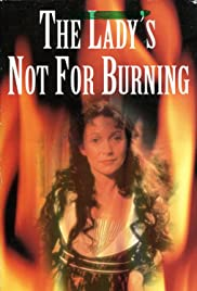 The Lady's Not for Burning Poster