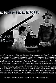 Die Klavierspielerin Poster