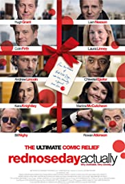 Red Nose Day Actually Poster