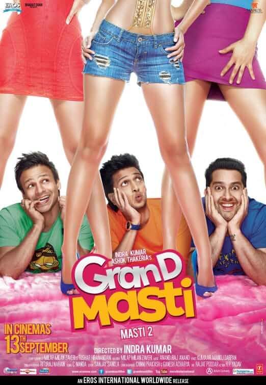 Grand Masti 2013 Full Hindi Movie 720p HDRip full movie watch online freee download at movies365.ws