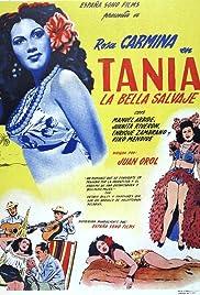 Tania la bella salvaje Poster