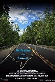 Boulevards and Aveunes Poster
