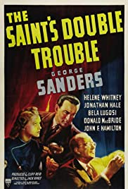 The Saint's Double Trouble (1940) Poster - Movie Forum, Cast, Reviews