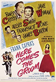 Here Comes the Groom (1951) Poster - Movie Forum, Cast, Reviews