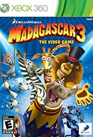 Madagascar 3: The Video Game Poster