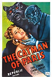 The Catman of Paris Poster