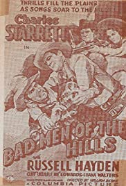 Bad Men of the Hills Poster