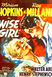 Wise Girl(1937) Poster - Movie Forum, Cast, Reviews