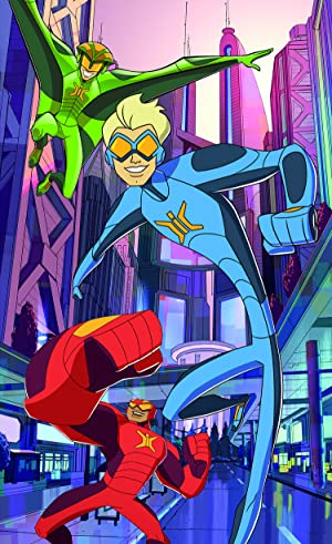 Stretch Armstrong and the Flex Fighters NETFLIX