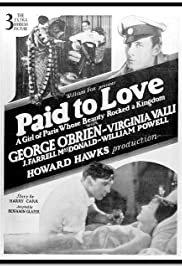 Paid to Love Poster