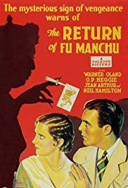 The Return of Dr. Fu Manchu Poster