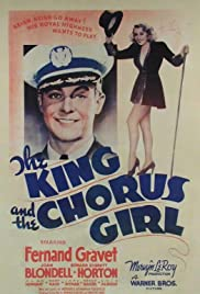 The King and the Chorus Girl Poster