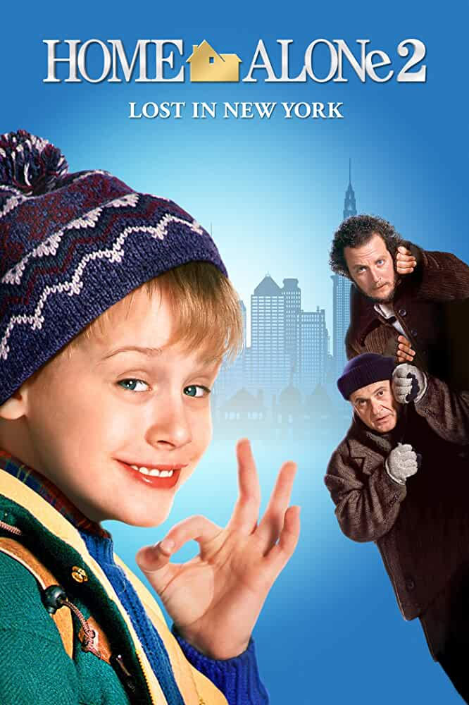 Home Alone 2 Lost in New York 1992 Hindi Dual Audio 720p BluRay ESubs Download
