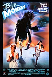 Blue Monkey Poster