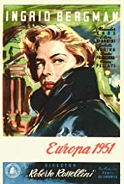 Europe '51 (1952) Poster - Movie Forum, Cast, Reviews