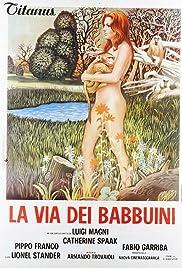 La via dei babbuini Poster