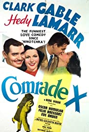 Comrade X (1940) Poster - Movie Forum, Cast, Reviews