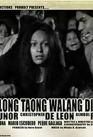 Tatlong taong walang Diyos Poster