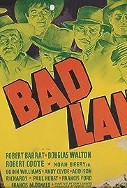 Bad Lands Poster