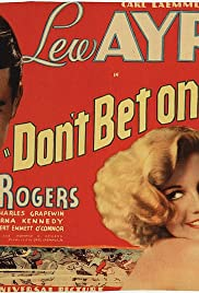 Don't Bet on Love Poster
