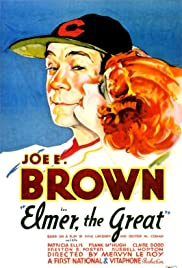 Elmer, the Great (1933) Poster - Movie Forum, Cast, Reviews