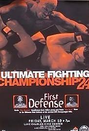 UFC 24: First Defense Poster