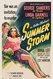 Summer Storm (1944) Poster - Movie Forum, Cast, Reviews